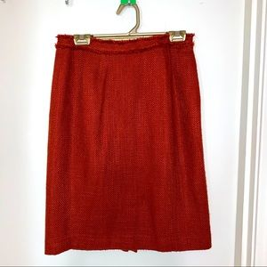 Burnt Orange Skirt 8P